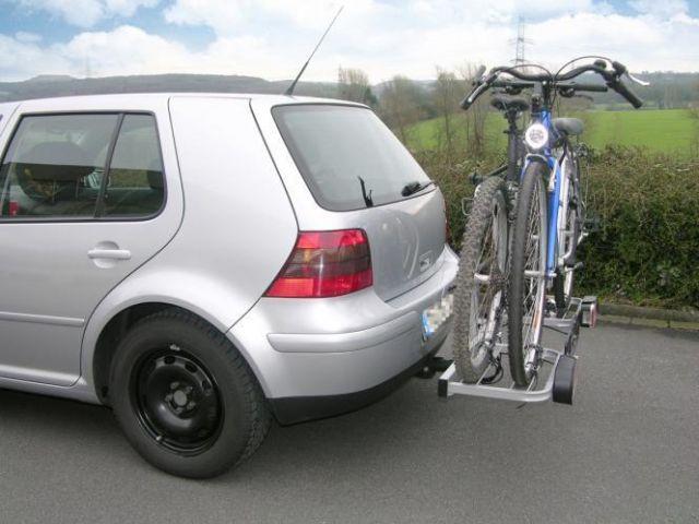eufab bike two fahrradtr ger f r 2 fahrr der kfz. Black Bedroom Furniture Sets. Home Design Ideas