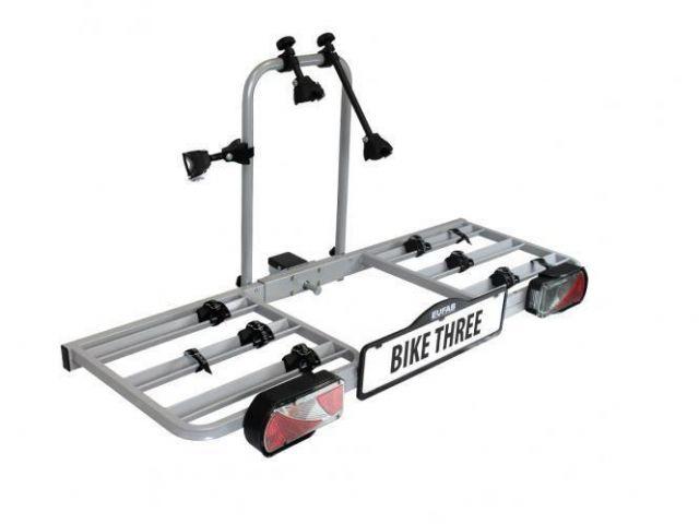 eufab bike three fahrradtr ger f r 3 fahrr der hecktr ger. Black Bedroom Furniture Sets. Home Design Ideas