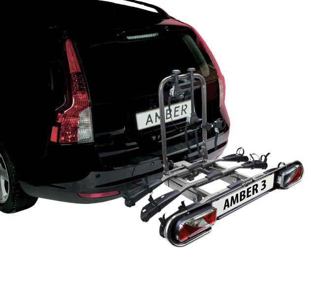 eufab amber 3 fahrradtr ger f r 3 fahrr der pkw hecktr ger. Black Bedroom Furniture Sets. Home Design Ideas
