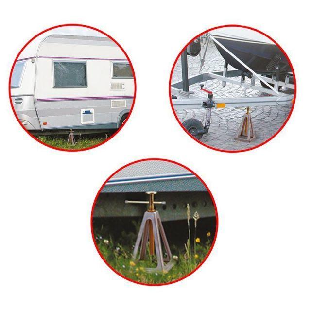 St/ützb/öcke Wohnwagen Caravan 3600 kg 4 St/ück Set