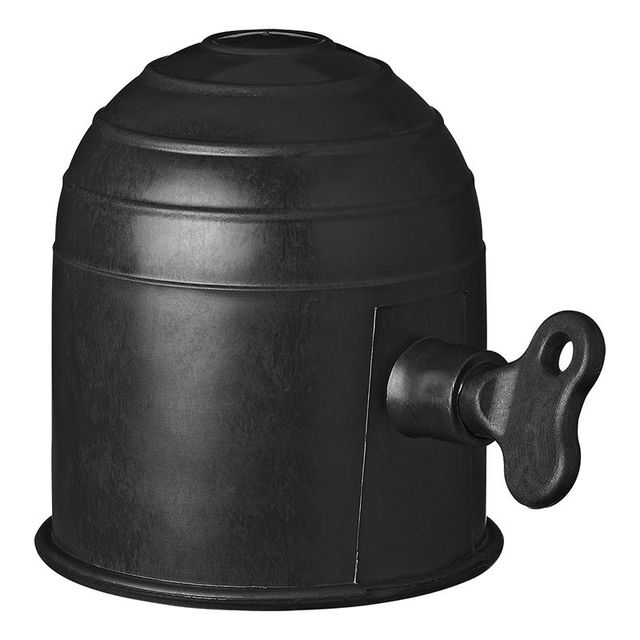 10x Abdeckung für Anhängerkupplung Abdeckkappe Kupplug Schutz Kappe Schwarz