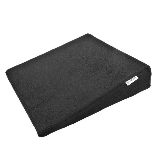 Universal Cojín de asiento Cuña 37x37cm para Coche Negro Silla oficina