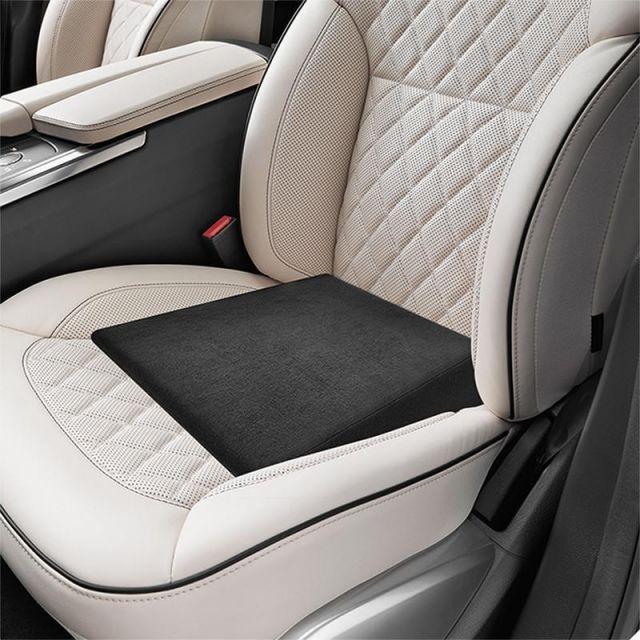 Universal Cojín de asiento Cuña 37x37cm para Coche Negro Silla ...