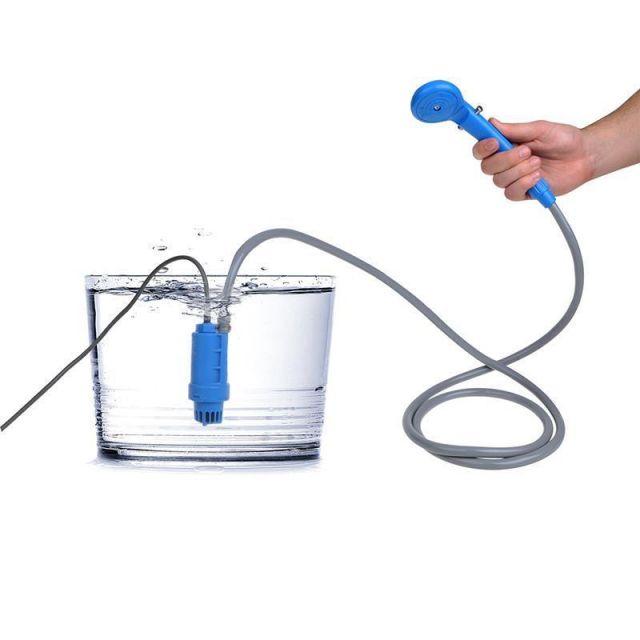 Camping dusche Mobile Dusche Outdoor Gartendusche Reisedusche Wohnmobil USB Lade