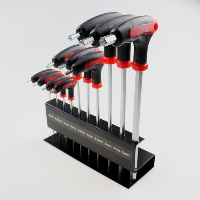 T Griff Allen Inbusschlüssel Schraubenschlüssel Handwerkzeug 3~8mm DI
