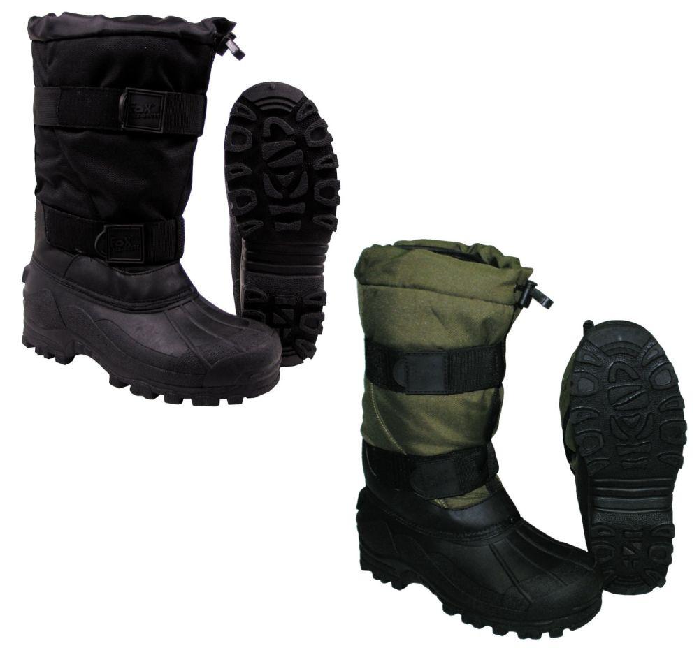 nuevo estilo de calidad real mas fiable Detalles de Botas para Clima Frío Calzado Térmico -40°C Hombre Mujer  Zapatos Invierno Fox