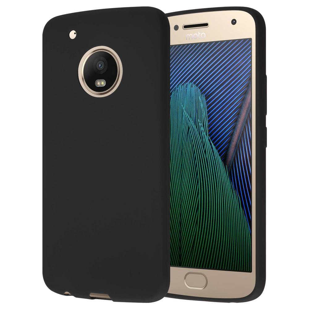 Custodia-Cover-Silicone-per-Motorola-MOTO-G5-PLUS-TPU-Case-Protettiva miniatura 37