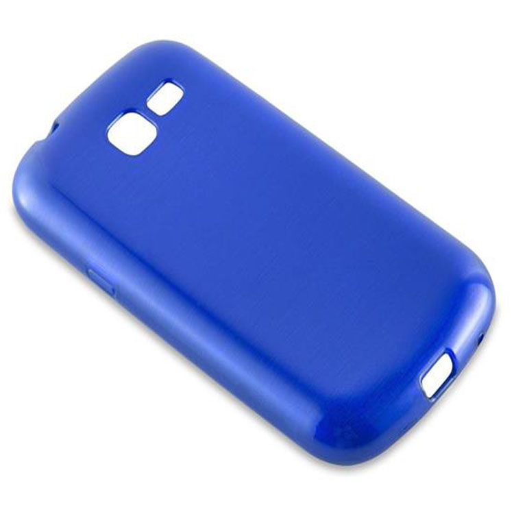 Custodia-Cover-Silicone-per-Samsung-Galaxy-TREND-LITE-TPU-Case-Effetto-Acciaio miniatura 26