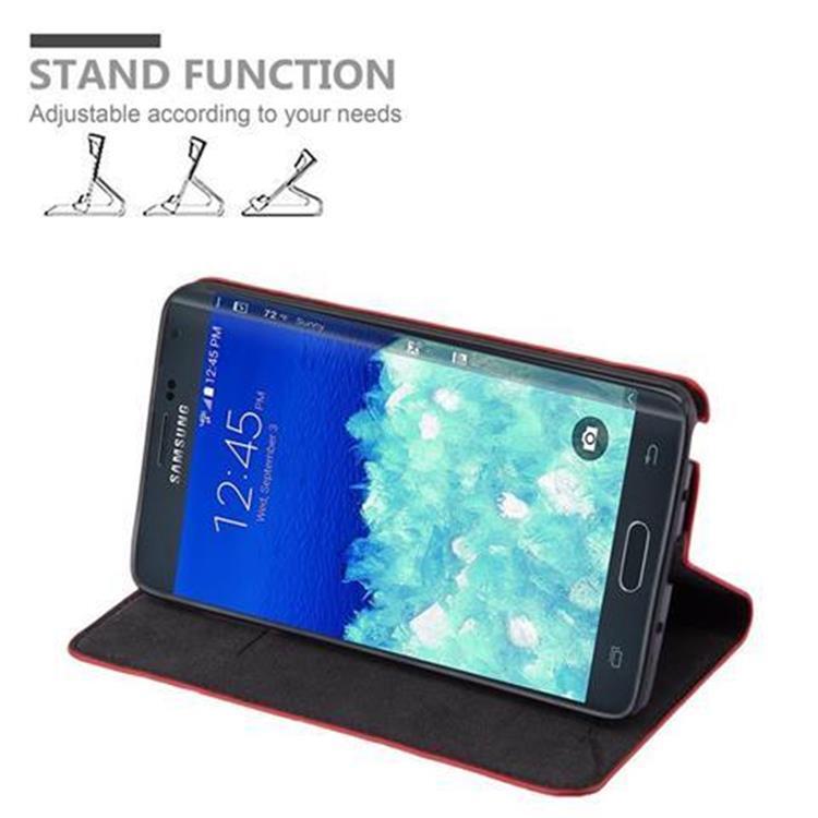 Custodia-per-Samsung-Galaxy-NOTE-EDGE-Portafoglio-Cover-Case-Magnetica-Libro miniatura 19