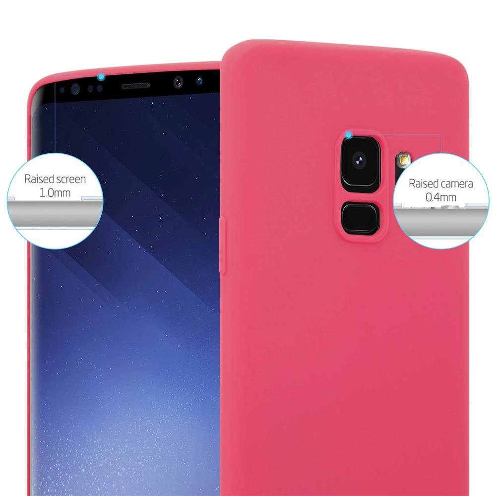 Custodia-Cover-Silicone-per-Samsung-Galaxy-S9-TPU-Case-Protettiva miniatura 9