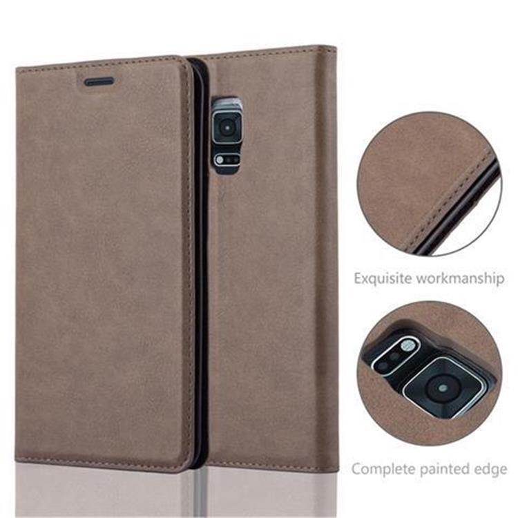 Custodia-per-Samsung-Galaxy-NOTE-EDGE-Portafoglio-Cover-Case-Magnetica-Libro miniatura 9
