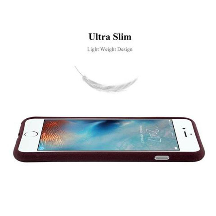 Custodia-Cover-Silicone-per-Apple-iPhone-6-iPhone-6S-TPU-Case-Bumper-Guscio miniatura 23