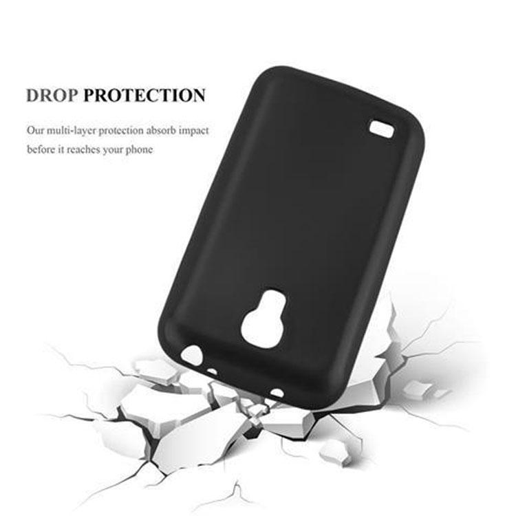 Custodia-Cover-Silicone-per-Samsung-Galaxy-S4-TPU-Case-Metallico-Opaco miniatura 7