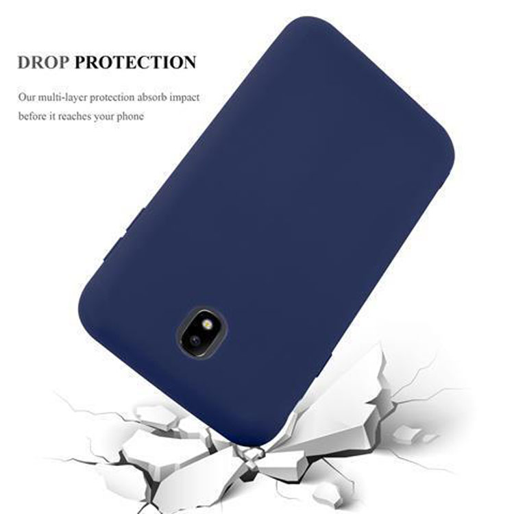 Custodia-Cover-Silicone-per-Samsung-Galaxy-J7-2017-TPU-Case-Protettiva miniatura 28