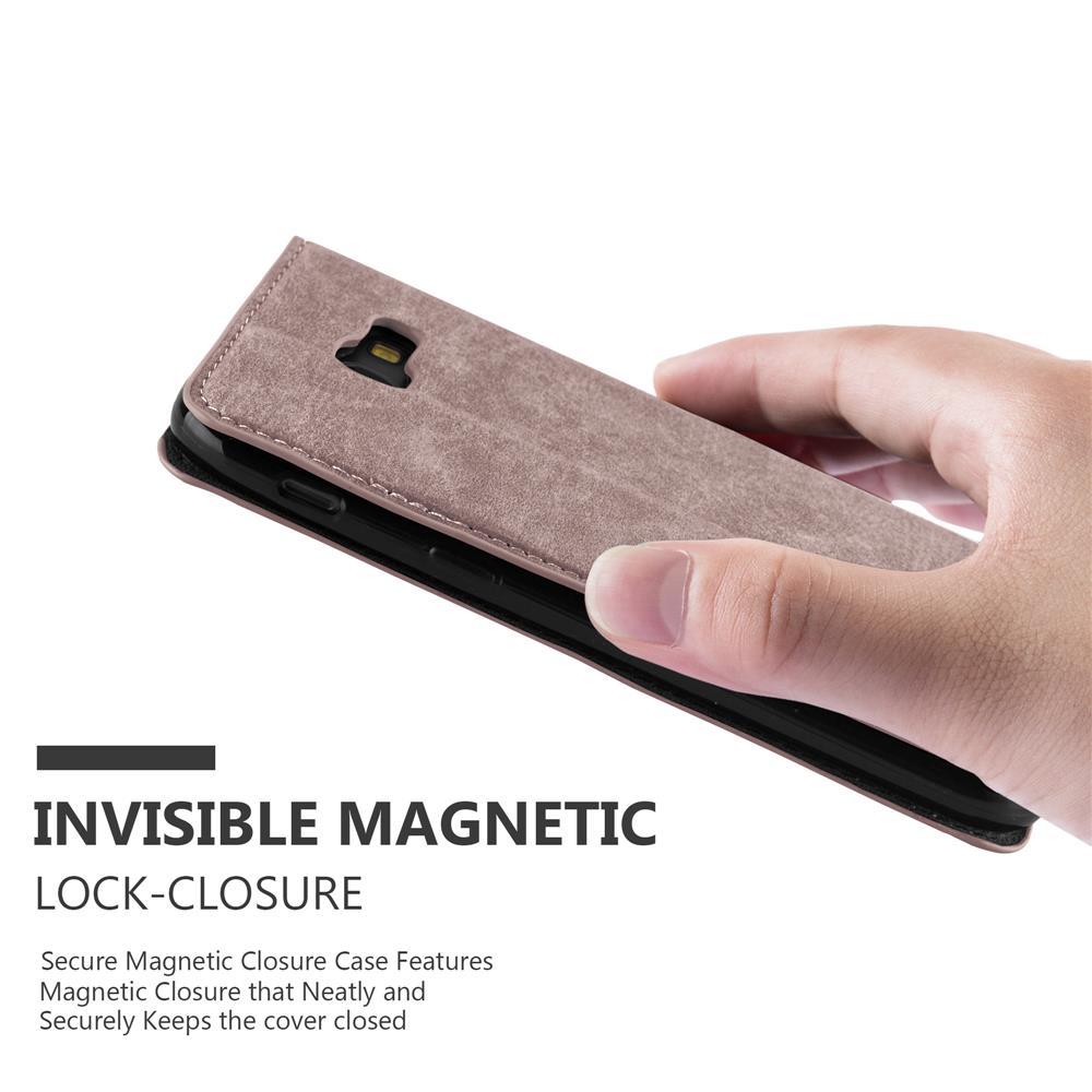 Custodia-per-Samsung-Galaxy-A7-2017-Portafoglio-Cover-Case-Magnetica-Libro miniatura 15