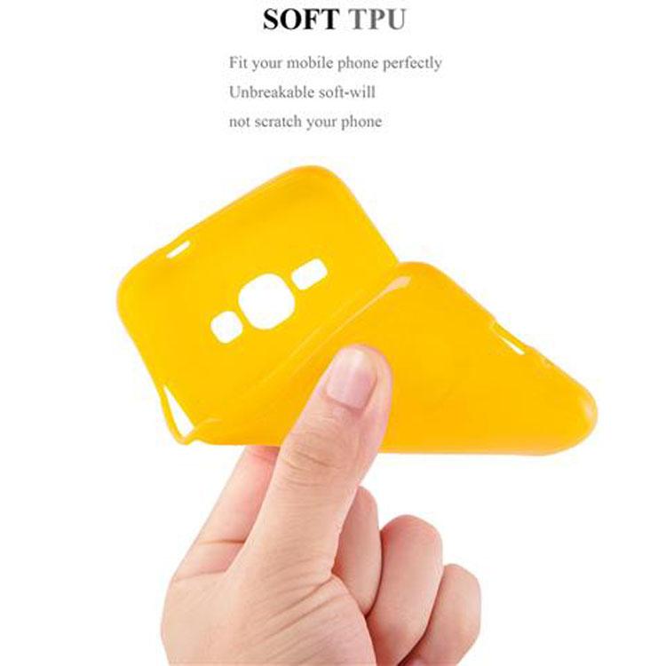 Custodia-Cover-Silicone-per-Samsung-Galaxy-J1-2015-Morbida-TPU-Case miniatura 24