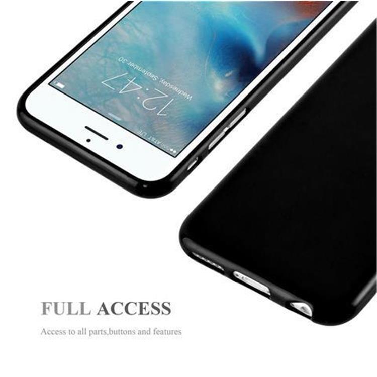 Custodia-Cover-Silicone-per-Apple-iPhone-6-6S-Morbida-TPU-Case miniatura 8