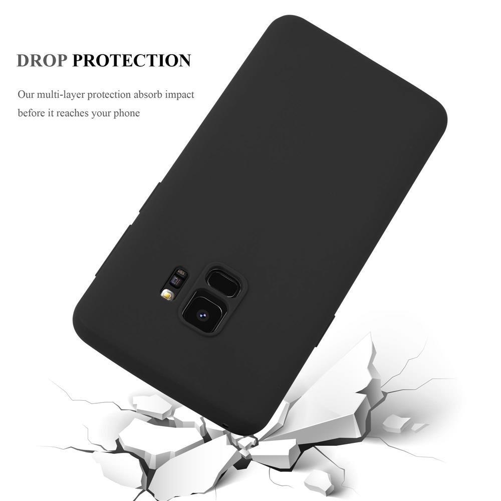 Custodia-Cover-Silicone-per-Samsung-Galaxy-S9-TPU-Case-Protettiva miniatura 35