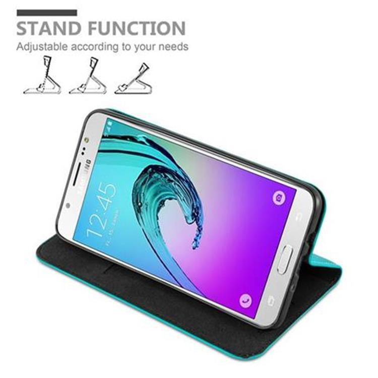 Custodia-per-Samsung-Galaxy-J7-2016-Portafoglio-Cover-Case-Magnetica-Libro miniatura 20