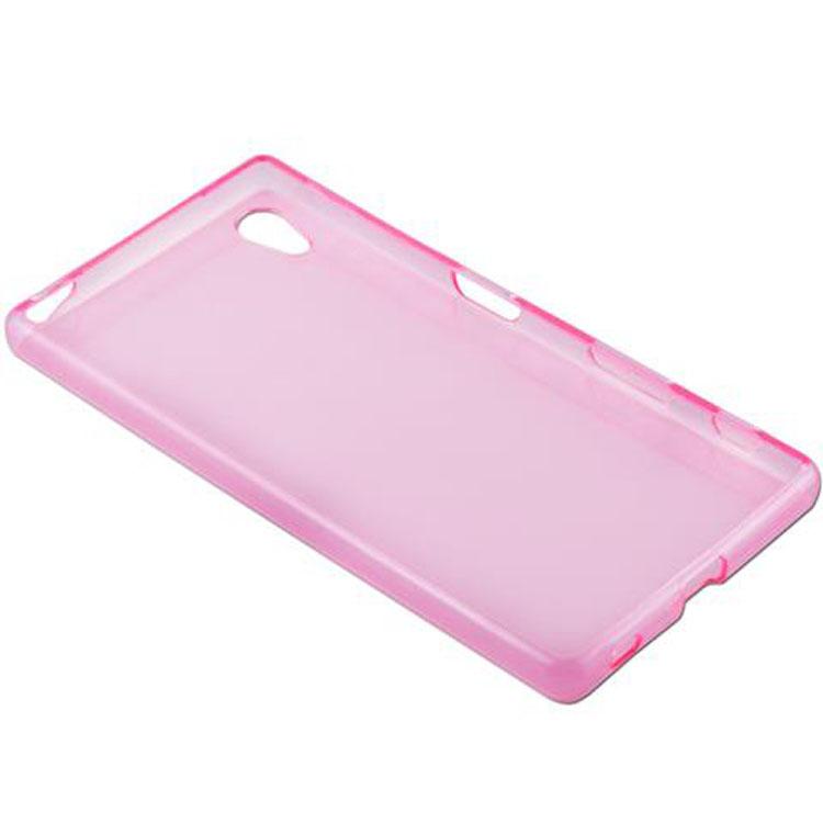 Custodia-Cover-Silicone-per-Sony-Xperia-Z5-TPU-Case-Ultra-Sottile miniatura 13