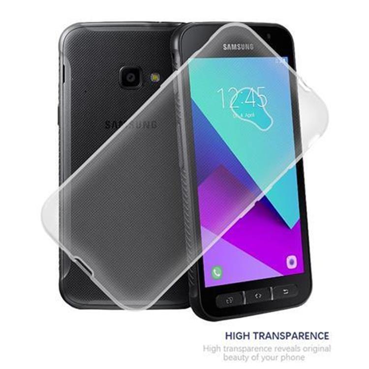 Custodia-Cover-Silicone-per-Samsung-Galaxy-Xcover-4-TPU-Case-Ultra-Sottile miniatura 6