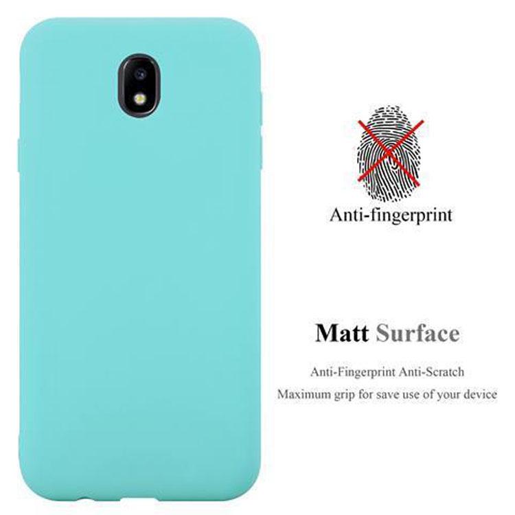 Custodia-Cover-Silicone-per-Samsung-Galaxy-J7-2017-TPU-Case-Protettiva miniatura 46