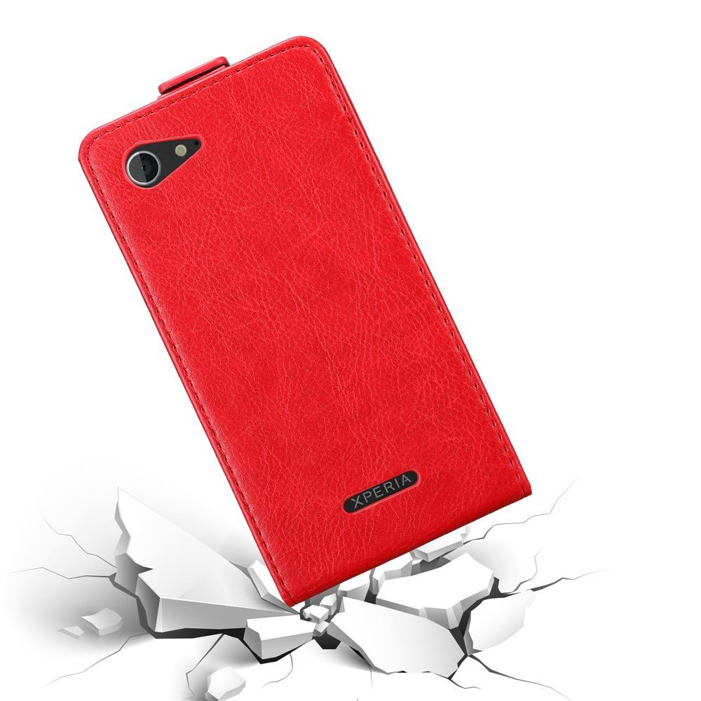Custodia-per-Sony-Xperia-E3-FLIP-Cover-Protezione-Case-Conchiglia miniatura 8