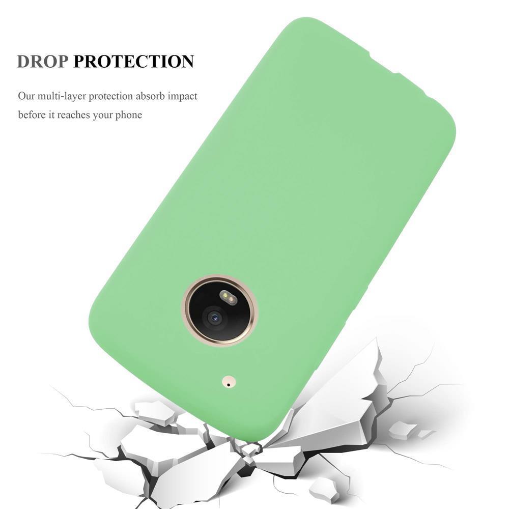 Custodia-Cover-Silicone-per-Motorola-MOTO-G5-PLUS-TPU-Case-Protettiva miniatura 21