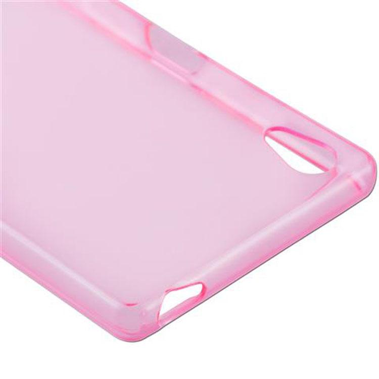 Custodia-Cover-Silicone-per-Sony-Xperia-Z5-TPU-Case-Ultra-Sottile miniatura 14