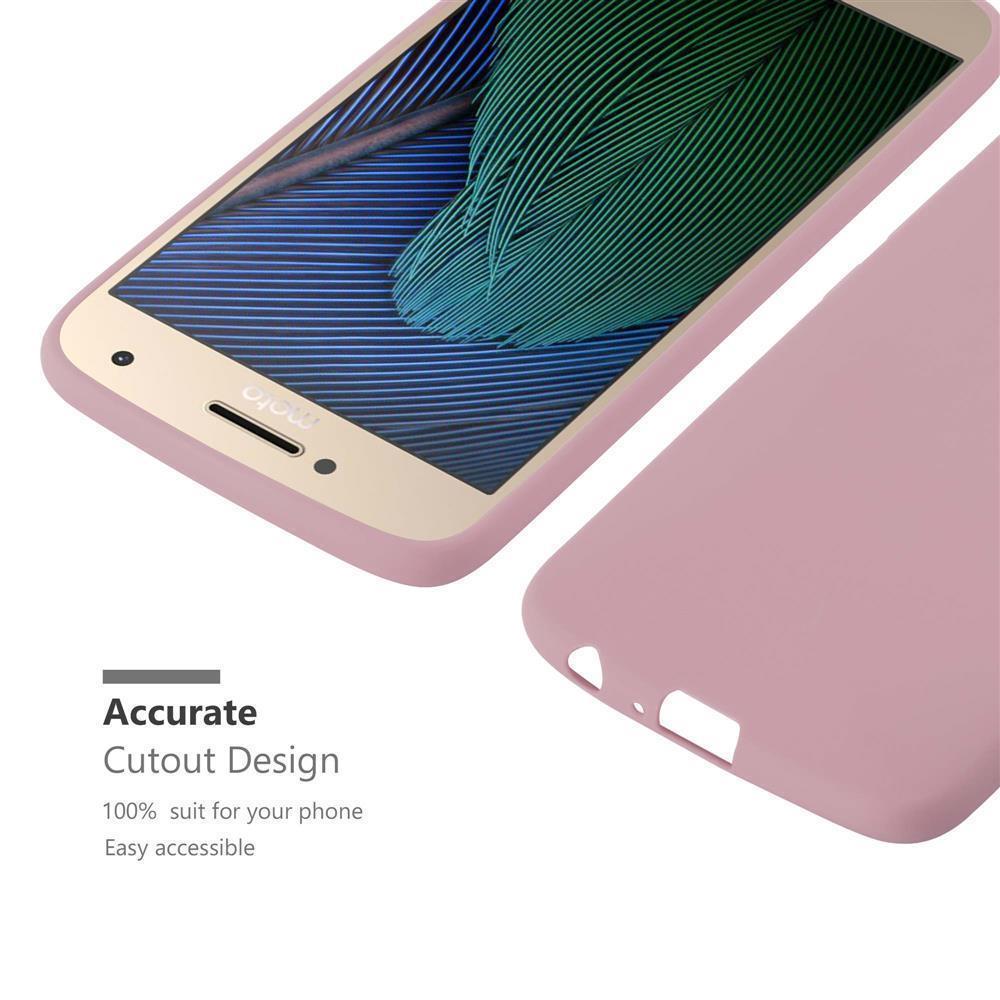 Custodia-Cover-Silicone-per-Motorola-MOTO-G5-PLUS-TPU-Case-Protettiva miniatura 17