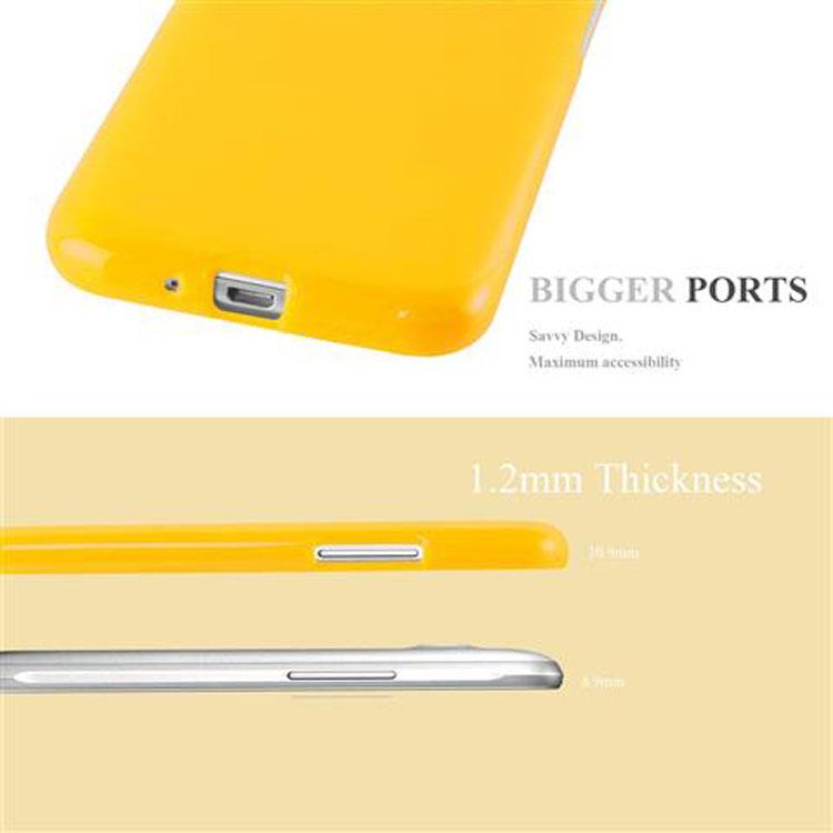 Custodia-Cover-Silicone-per-Samsung-Galaxy-J1-2015-Morbida-TPU-Case miniatura 22
