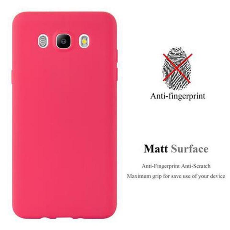 Custodia-Cover-Silicone-per-Samsung-Galaxy-J5-2016-TPU-Case-Protettiva miniatura 6