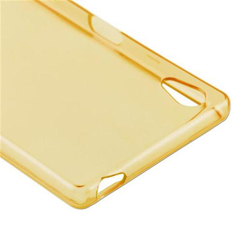 Custodia-Cover-Silicone-per-Sony-Xperia-Z5-TPU-Case-Ultra-Sottile miniatura 31