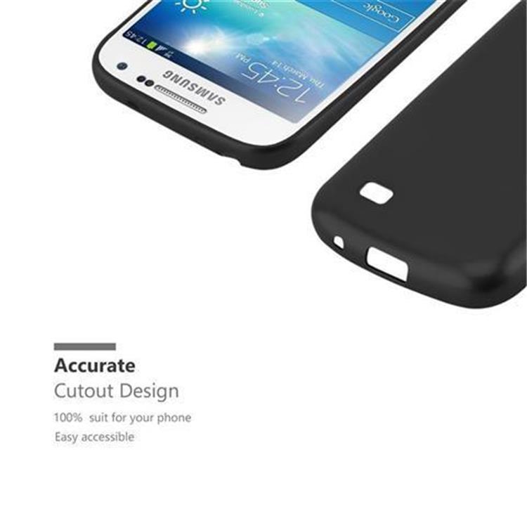 Custodia-Cover-Silicone-per-Samsung-Galaxy-S4-TPU-Case-Metallico-Opaco miniatura 6