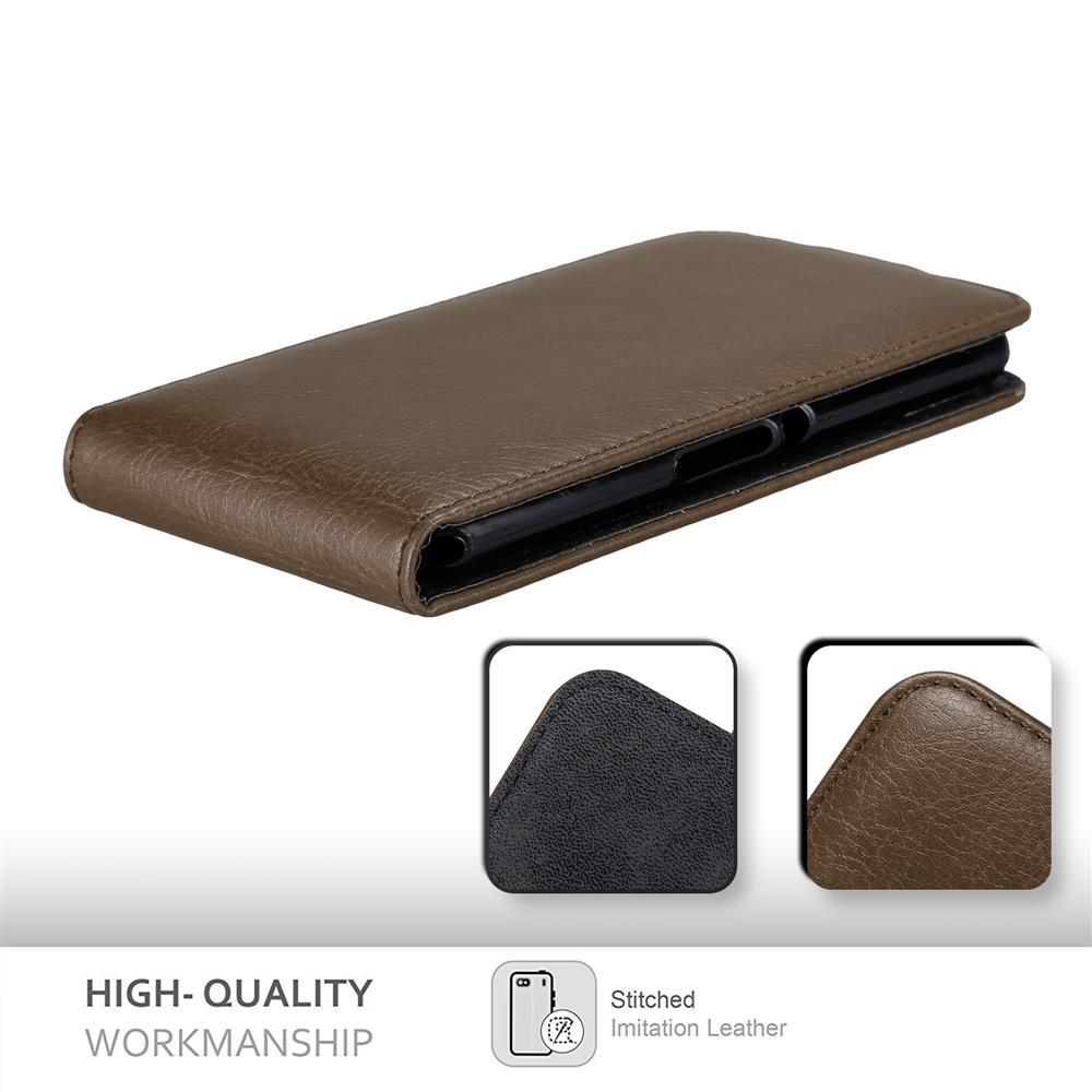 Custodia-per-Sony-Xperia-E3-FLIP-Cover-Protezione-Case-Conchiglia miniatura 19