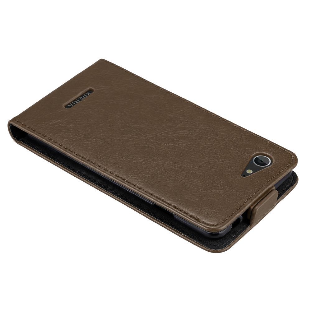 Custodia-per-Sony-Xperia-E3-FLIP-Cover-Protezione-Case-Conchiglia miniatura 17