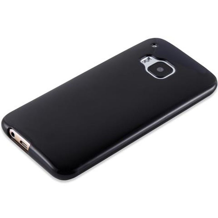 Custodia-Cover-Silicone-per-HTC-ONE-M9-TPU-Case-Ultra-Sottile miniatura 24