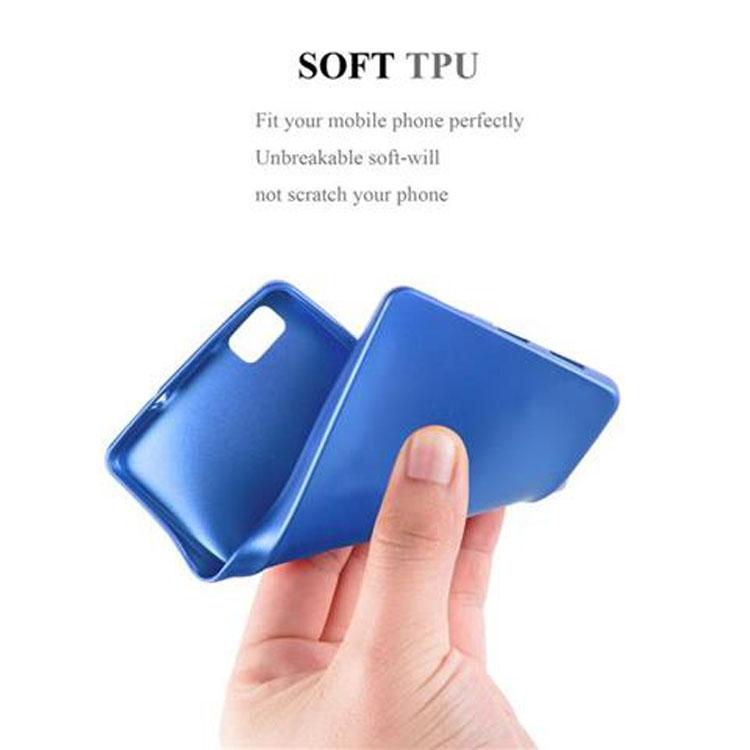 Custodia-Cover-Silicone-per-Huawei-P8-LITE-2015-TPU-Case-Metallico-Opaco miniatura 33