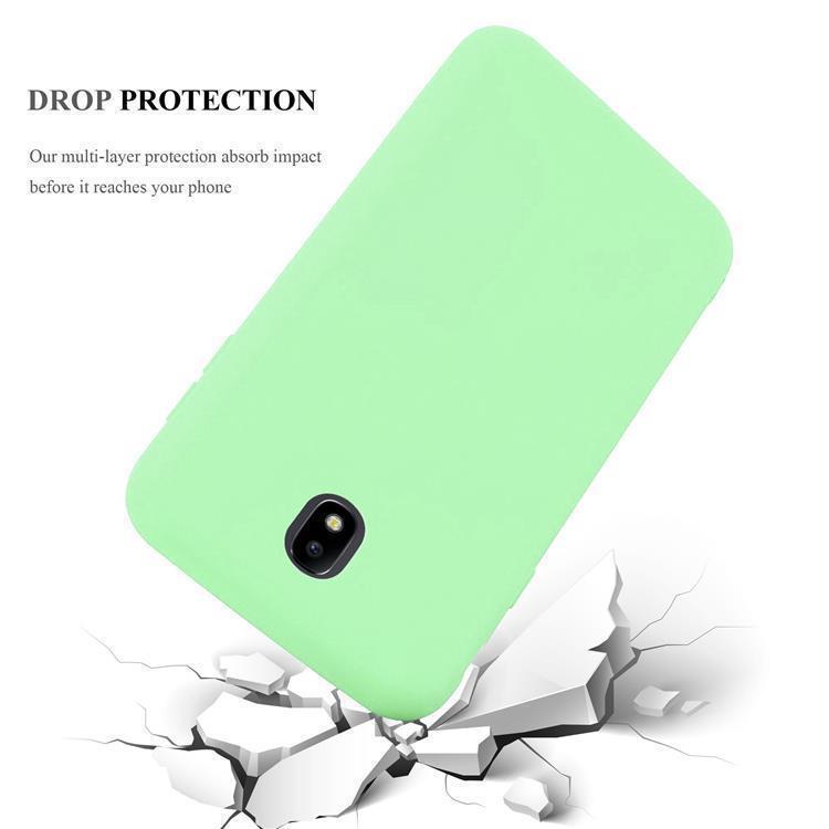 Custodia-Cover-Silicone-per-Samsung-Galaxy-J7-2017-TPU-Case-Protettiva miniatura 21