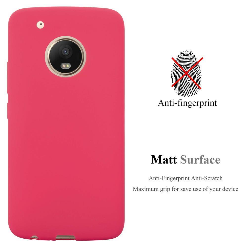 Custodia-Cover-Silicone-per-Motorola-MOTO-G5-PLUS-TPU-Case-Protettiva miniatura 11