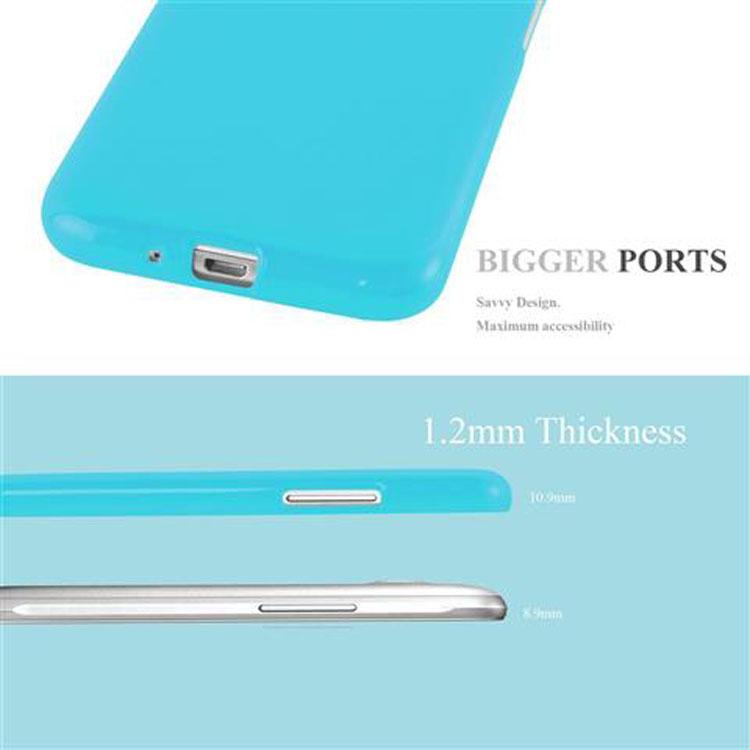 Custodia-Cover-Silicone-per-Samsung-Galaxy-J1-2015-Morbida-TPU-Case miniatura 27