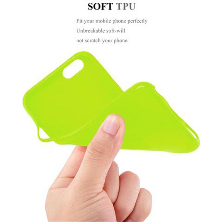 Custodia-Cover-Silicone-per-Apple-iPhone-6-6S-Morbida-TPU-Case miniatura 19