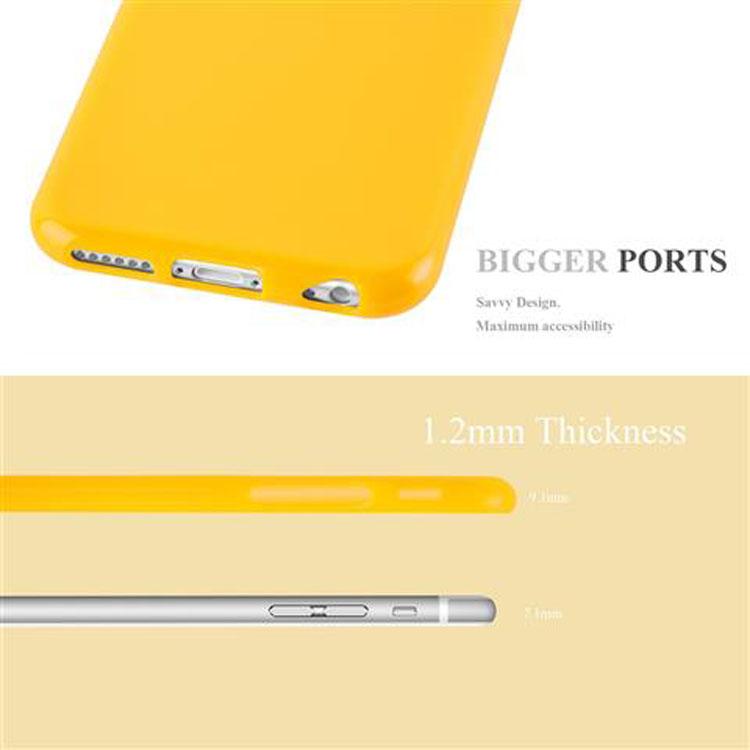 Custodia-Cover-Silicone-per-Apple-iPhone-6-6S-Morbida-TPU-Case miniatura 22
