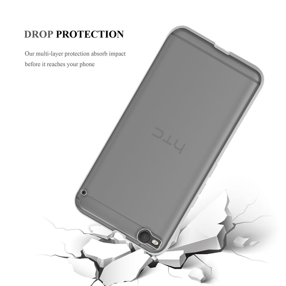 Custodia-Cover-Silicone-per-HTC-One-X9-TPU-Case-Ultra-Sottile miniatura 11