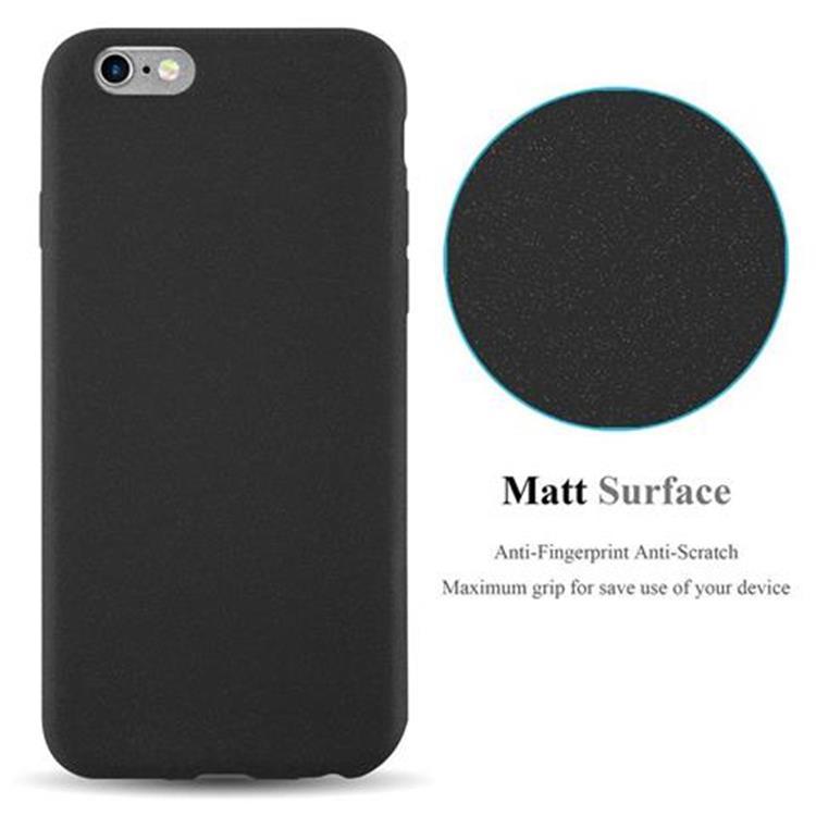 Custodia-Cover-Silicone-per-Apple-iPhone-6-iPhone-6S-TPU-Case-Bumper-Guscio miniatura 8