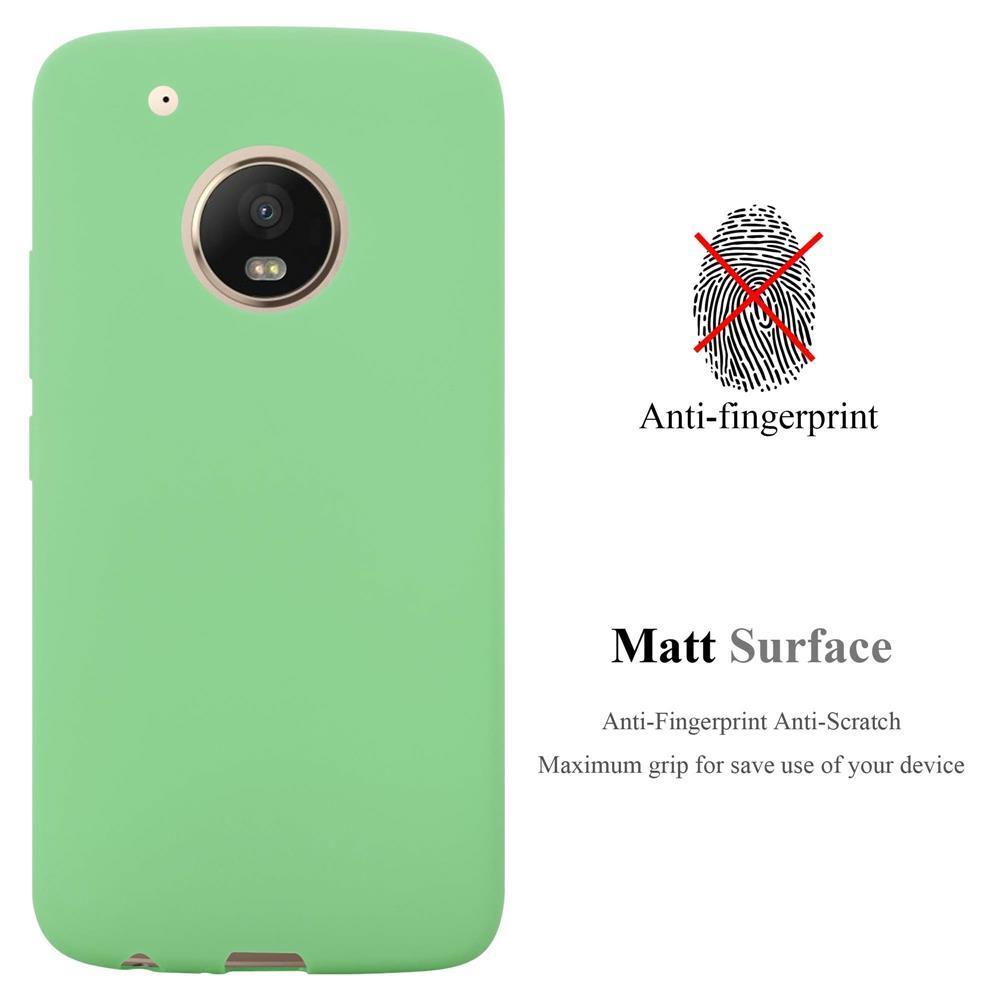 Custodia-Cover-Silicone-per-Motorola-MOTO-G5-PLUS-TPU-Case-Protettiva miniatura 25