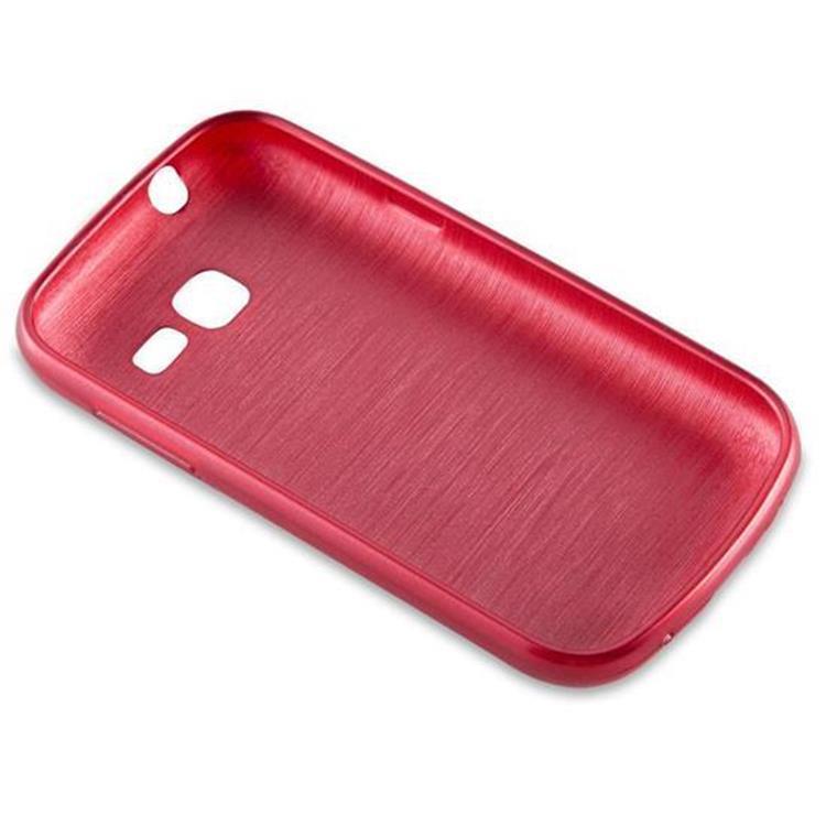 Custodia-Cover-Silicone-per-Samsung-Galaxy-TREND-LITE-TPU-Case-Effetto-Acciaio miniatura 23