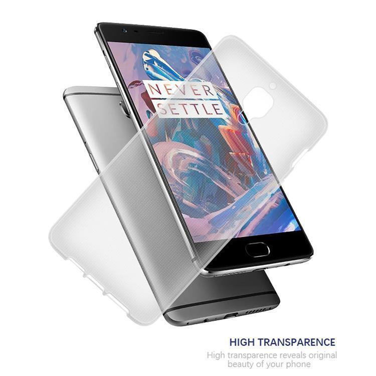 Custodia-Cover-Silicone-per-OnePlus-3-3T-TPU-Case-Ultra-Sottile miniatura 6