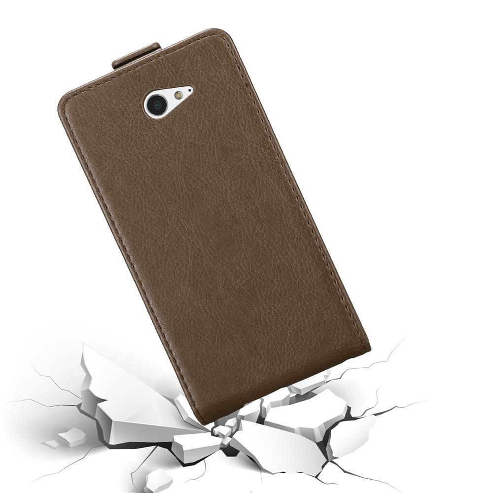 Custodia-per-Sony-Xperia-M2-M2-AQUA-FLIP-Cover-Protezione-Case-Conchiglia miniatura 18