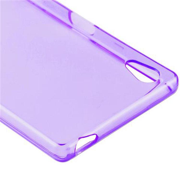 Custodia-Cover-Silicone-per-Sony-Xperia-Z5-TPU-Case-Ultra-Sottile miniatura 37